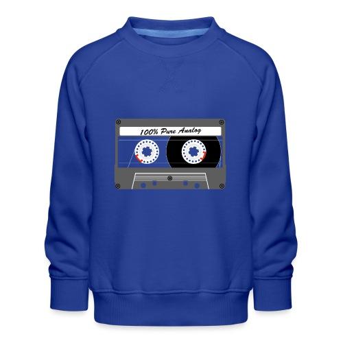 Cassette Pure Analog - Kids' Premium Sweatshirt