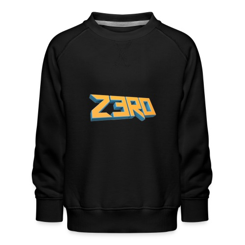 The Z3R0 Shirt - Kids' Premium Sweatshirt