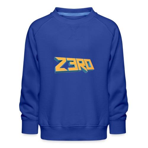 The Z3R0 Shirt - Kids' Premium Sweatshirt