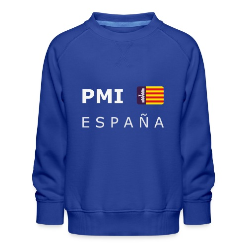 PMI MF ESPAÑA white-lettered 400 dpi - Kids' Premium Sweatshirt