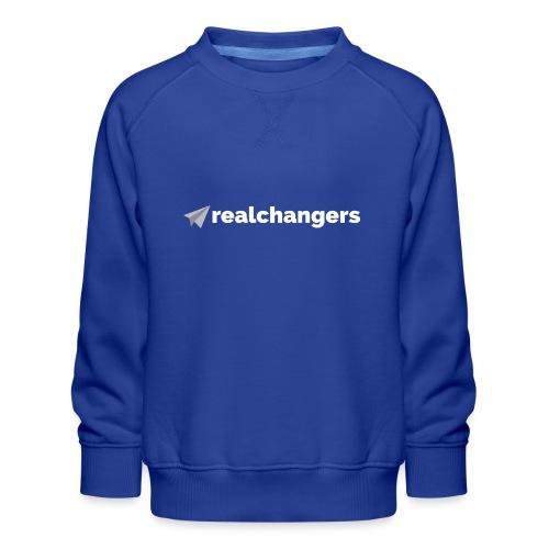 realchangers - Kids' Premium Sweatshirt