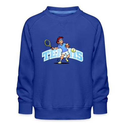 Tennis IV txt fc - Kids' Premium Sweatshirt