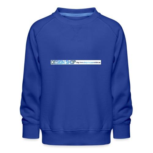 ny logo lang - Premium-genser for barn