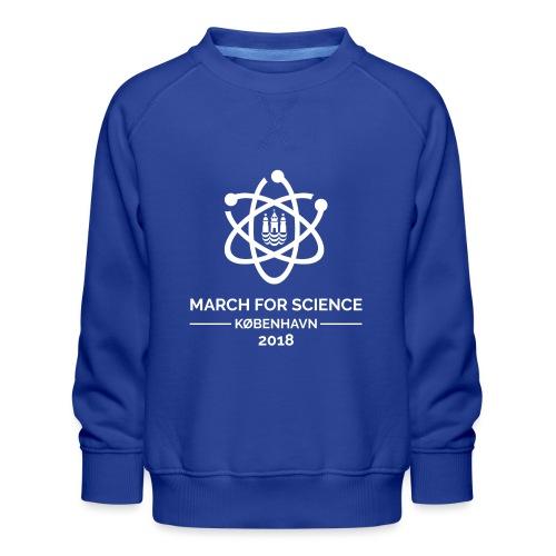 March for Science København 2018 - Kids' Premium Sweatshirt