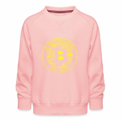 In cryptography we trust 2 - Kids' Premium Sweatshirt