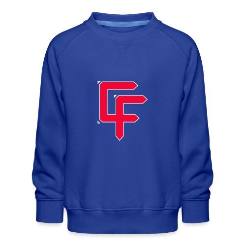 CF Final White Border t shirts - Kids' Premium Sweatshirt