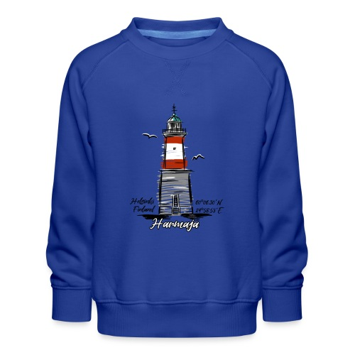 HARMAJA MAJAKKA Helsinki Boating Textiles, gifts - Lasten premium-collegepaita