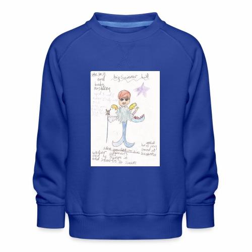 Big Swimmer Bill DHIRT - Kids' Premium Sweatshirt
