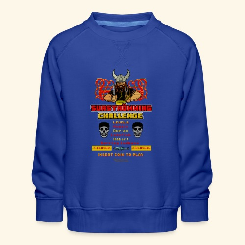 Surströmming Challenge Retro Videospiel - Kinder Premium Pullover