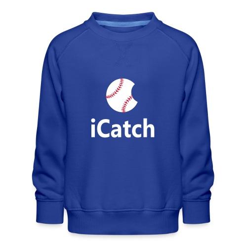 Baseball Logo iCatch - Kids' Premium Sweatshirt