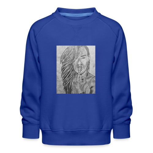 Jyrks_kunstdesign - Børne premium sweatshirt