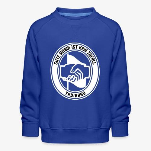 Logo Troihand invertiert - Kinder Premium Pullover