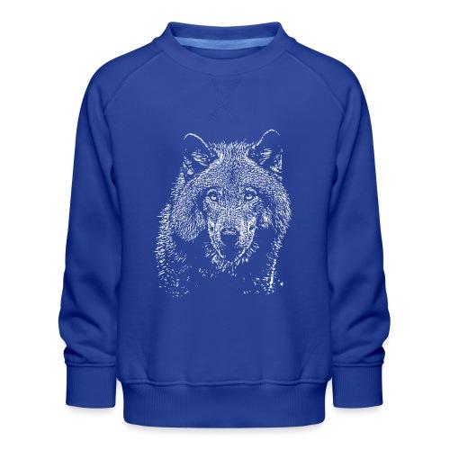 Wolf - Sweat ras-du-cou Premium Enfant