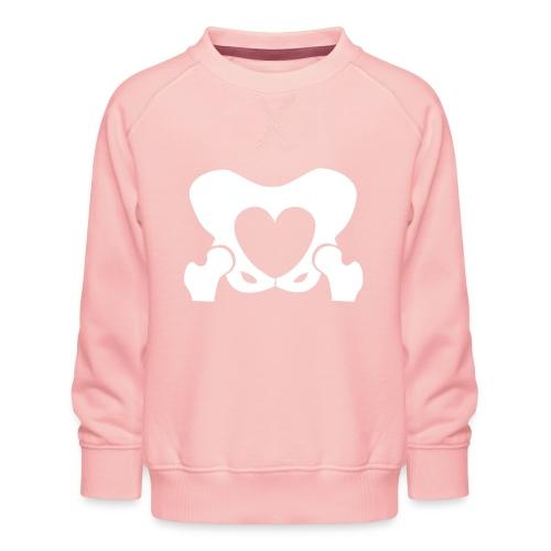 Love Your Hips Logo - Kids' Premium Sweatshirt