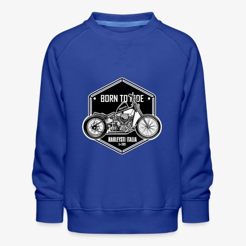 Born to Ride - Vintage motorbike - Felpa premium da bambini