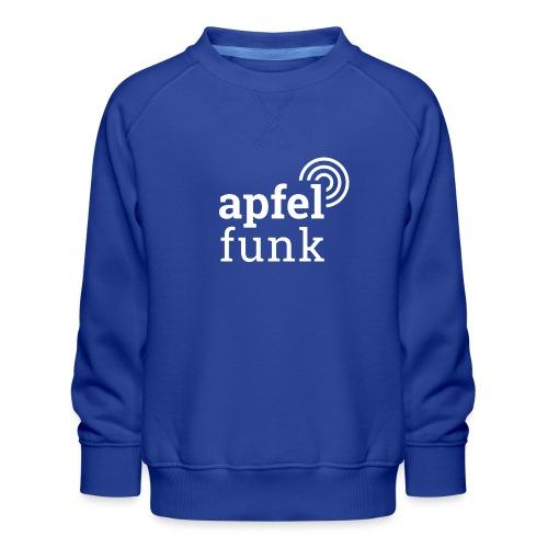 Apfelfunk Dark Edition - Kinder Premium Pullover