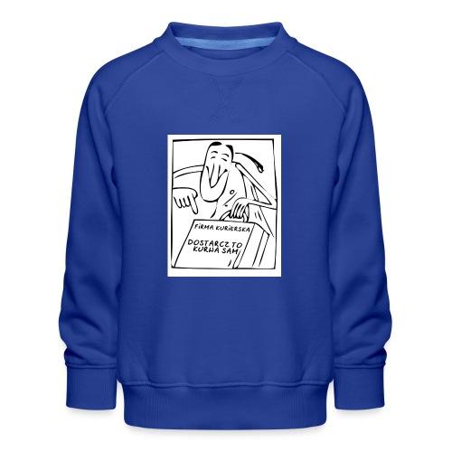 firma kurierska przod - Bluza dziecięca Premium