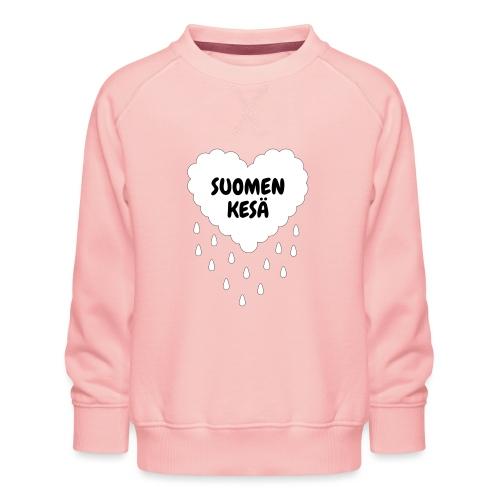 Suomen kesä - Lasten premium-collegepaita