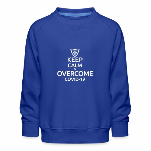 Keep calm and overcome - Bluza dziecięca Premium