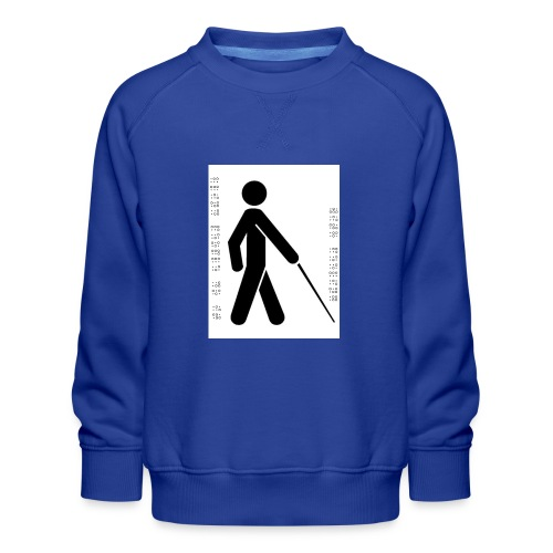 Blind T-Shirt - Kids' Premium Sweatshirt