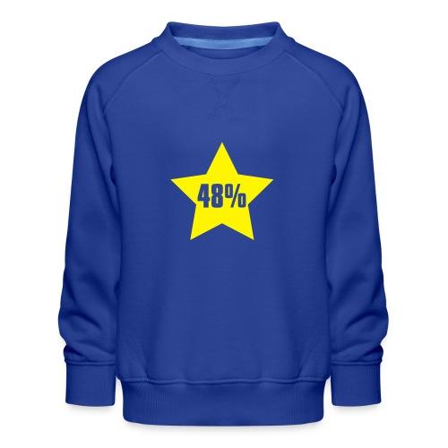 48% in Star - Kids' Premium Sweatshirt