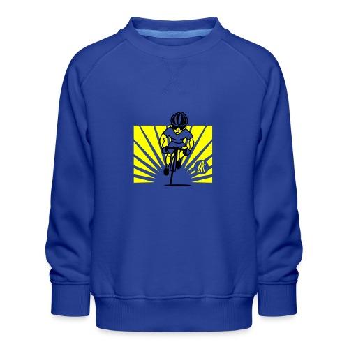 Cyclist - Kids' Premium Sweatshirt