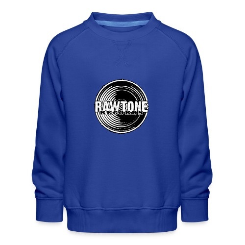 Rawtone Records - full logo - Kids' Premium Sweatshirt