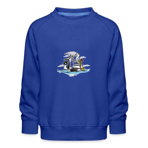 Birds of a Feather - Kids' Premium Sweatshirt