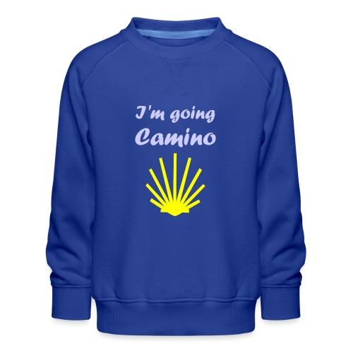 Going Camino - Børne premium sweatshirt