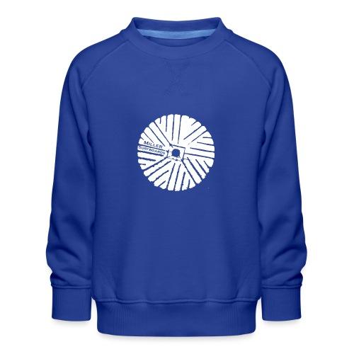 White chest logo sweat - Kids' Premium Sweatshirt
