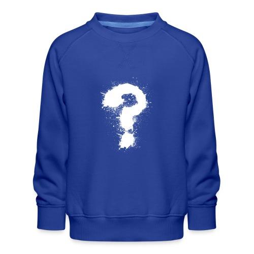 Fragezeichen - Kinder Premium Pullover