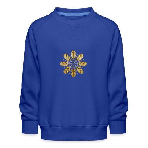 Inoue clan kamon in gold - Kids' Premium Sweatshirt