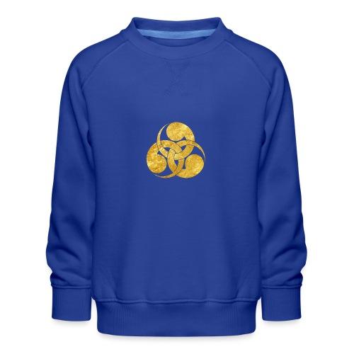 Tadpole Mon Japanese samurai clan - Kids' Premium Sweatshirt