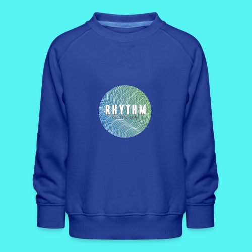Rhythm On The Run Logo - Kids' Premium Sweatshirt