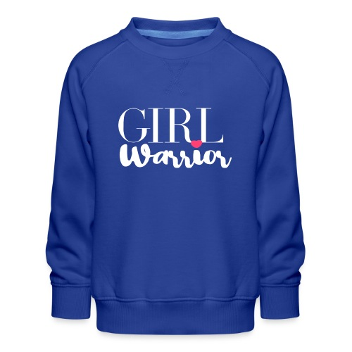 girl warrior - Kinder Premium Pullover