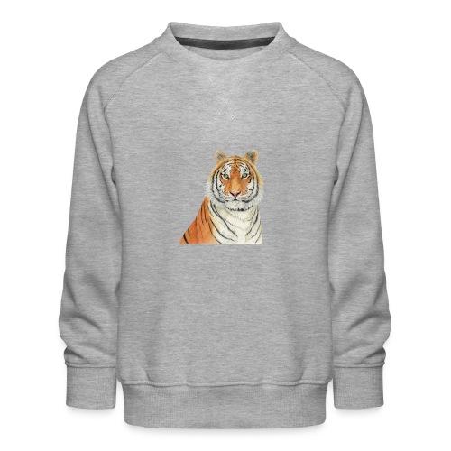 Tigre,Tiger,Wildlife,Natura,Felino - Felpa premium da bambini
