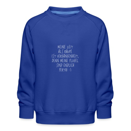 Metamorphose (Flügel am Rücken) - Kinder Premium Pullover