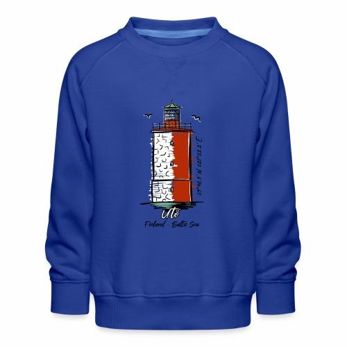 Finnish Lighthouse UTÖ Textiles, and Gifts - Lasten premium-collegepaita