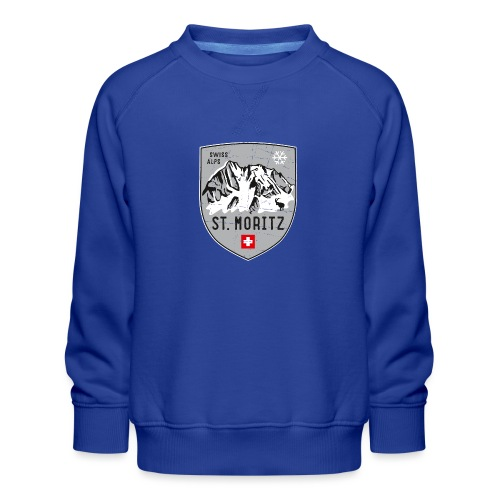 St. Moritz coat of arms - Kids' Premium Sweatshirt
