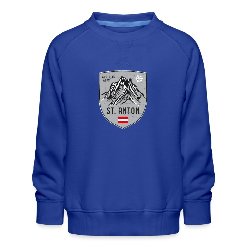 St. Anton Austria coat of arms - Kids' Premium Sweatshirt