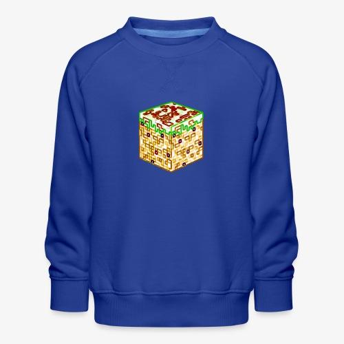 Neon Block - Kids' Premium Sweatshirt