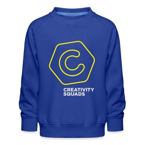 CreativitySquads 002 - Lasten premium-collegepaita