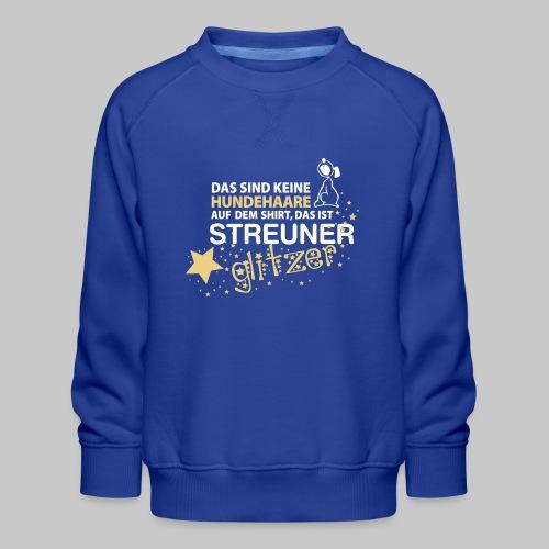 Streuner Glitzer - Kinder Premium Pullover