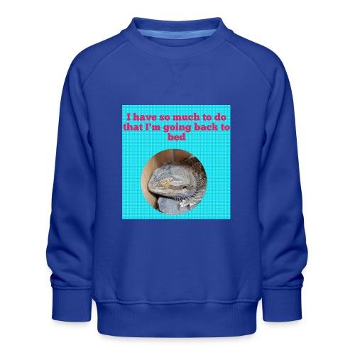 The sleeping dragon - Kids' Premium Sweatshirt