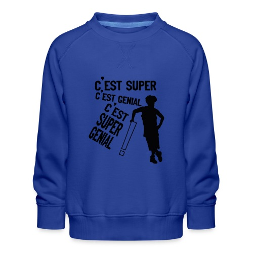 131254013 950528215477108 4026743132731528068 n - Sweat ras-du-cou Premium Enfant