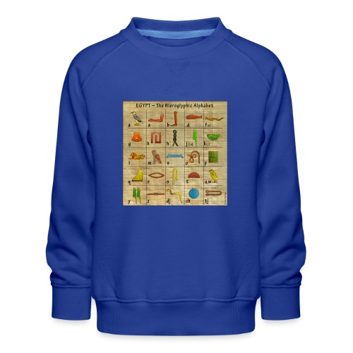 The Hieroglyphic Alphabet - Kinder Premium Pullover