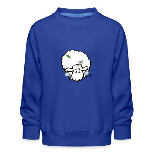 Juletræ får - Børne premium sweatshirt