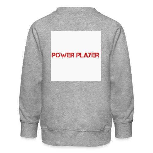 Linea power player - Felpa premium da bambini