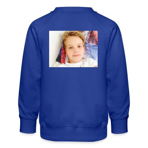 first design - Børne premium sweatshirt
