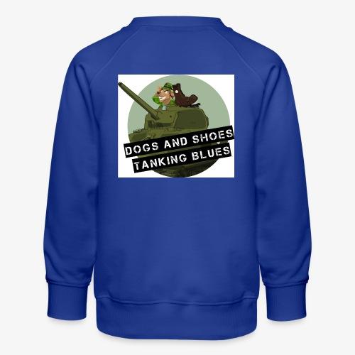 logo dogs nieuw - Kinderen premium sweater